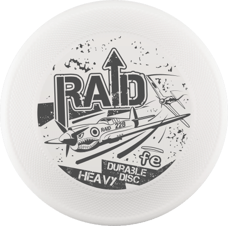 Raid frisbee for dog super resistant