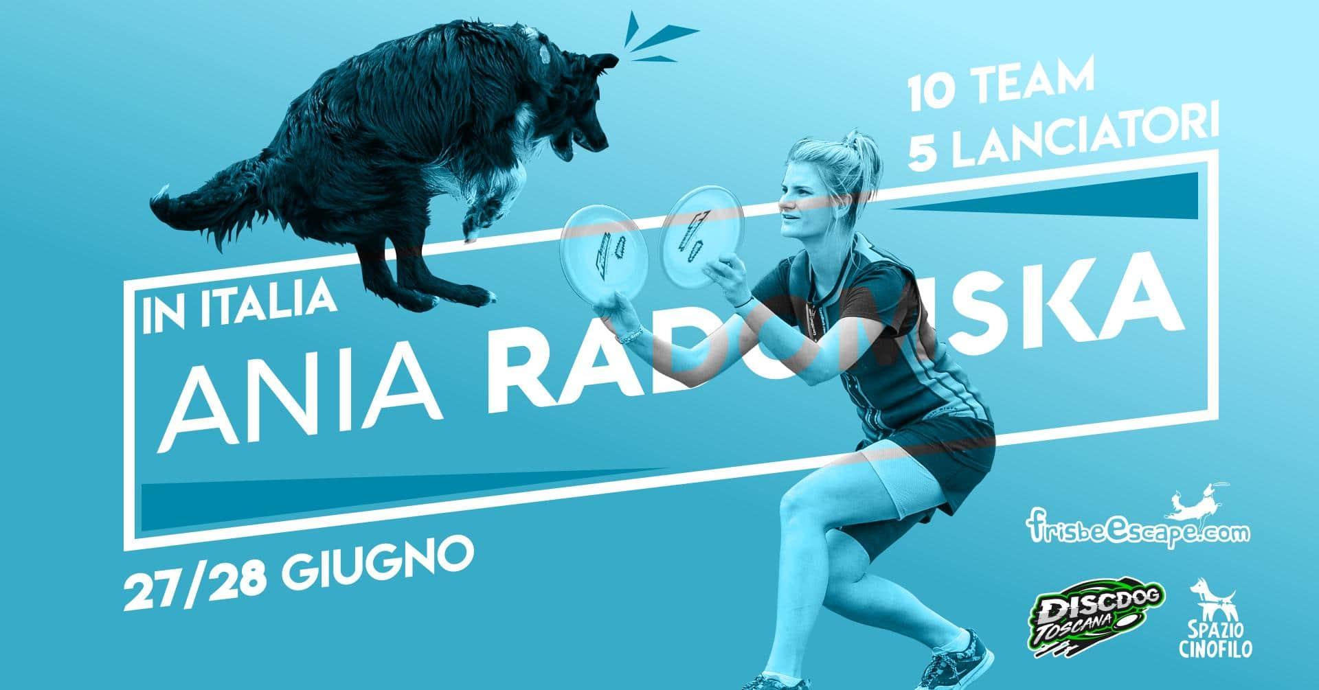 disc dog stage Ania Radomska 2020